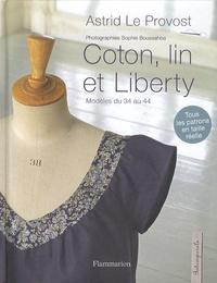 Astrid Le Provost - Coton, lin et Liberty.