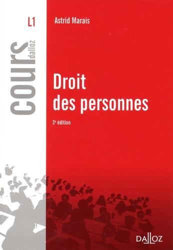 Droit des personnes  Edition 2018