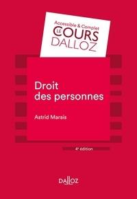 Astrid Marais - Droit des personnes.