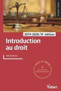 Astrid Marais - Introduction au droit 2019/2020 - Tout le cours et des conseils méthodologiques.