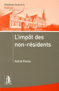 Astrid Pieron - L'impôt des non-résidents.