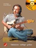 Astrid Rogge et Nicolas Espinasse - L'improvisation - Guitares acoustiques/électriques. 1 CD audio