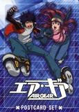 Asuka - Airgear - Set de cartes postales.