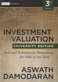 Aswath Damodaran - Investment Valuation.