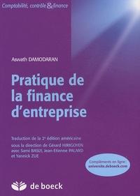 Aswath Damodaran - Pratique de finance d'entreprise.
