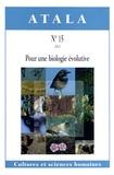 Louis Allano - Atala N° 15/2012 : Pour une biologie évolutive.