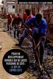 ATD Quart Monde - Pour un développement durable qui ne laisse personne de côté : le défi de l'après-2015.