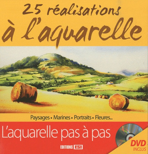 Atelier TF - 25 réalisations à l'aquarelle. 1 DVD