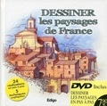 Atelier TF - Dessiner les paysages de France. 1 DVD