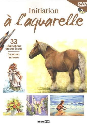 Atelier TF - Initiation à l'aquarelle. 1 DVD