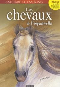 Atelier TF - Les chevaux à l'aquarelle.