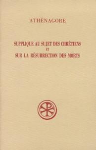 Athénagore et Bernard Pouderon - .