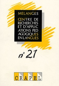 Sophie Bailly et Richard Duda - Mélanges N° 21 : .