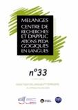 Sophie Bailly et Alex Boulton - Mélanges N° 33 : Didactique des langues et complexité : en hommage à Richard Duda.