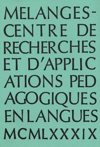 Sophie Bailly et  Collectif - Mélanges  : Recueil 1989.