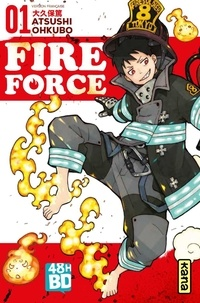 Atsushi Okubo - Fire Force Tome 1 : 48H BD 2020.