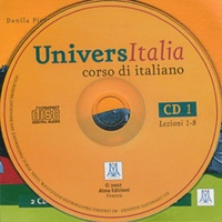 Danila Piotti - UniversItalia - Corso di italiano. 2 CD audio
