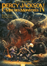Attila Futaki et Robert Venditti - Percy Jackson Tome 2 : La mer des monstres.