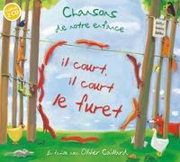 Olivier Caillard - Il court il court le furet. 2 CD audio
