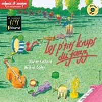 Olivier Caillard et Hélène Bohy - Les p'tits loups du jazz. 1 CD audio