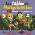 ARB Music - Les tables de multiplication avec 19 exercices de révision sur des airs traditionnels. 1 CD audio