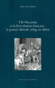 Deedr.fr T.B. Macaulay et la Révolution française - La pensée libérale de whig en débat Image