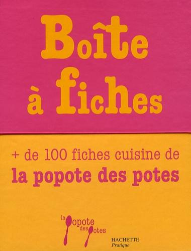 Aude de Galard - Boîte à fiches - La Popote des Potes.