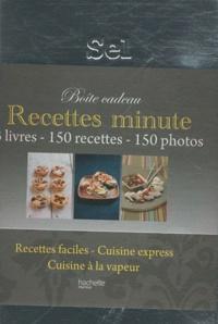 Deedr.fr Recettes minute - Boîte à sel 3 volumes Image