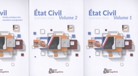 Aude Habrial et Emilie Audigié - Etat civil - Pack en 3 volumes : Volume 1 ; Volume 2 ; Guide pratique des mentions marginales.