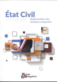 Aude Habrial - Etat civil - Guide pratique des mentions marginales.