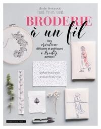 Aude Herrard - Broderie à un fil - Des créations délicates et poétiques à broder partout !.
