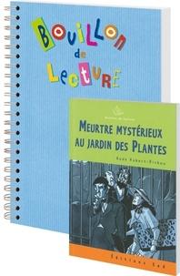 Aude Hubert-Richou - Meurtre mystérieux au jardin des plantes - 6 romans pour la classe + fichier.