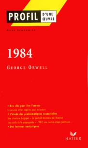 Aude Lemeunier - 1984, George Orwell.