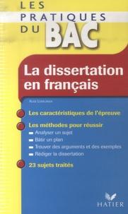 Aude Lemeunier - La dissertation en français.