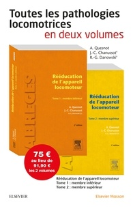 Aude Quesnot et Jean-Claude Chanussot - Toutes les pathologies locomotrices en 2 volumes.