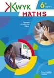 Audrey Auguet et Alexa Bourdoncle-Slimak - Maths 6e cycle 3 Kwyk - Livre de l'élève.