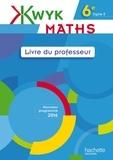 Audrey Auguet et Alexa Bourdoncle-Slimak - Maths 6e - Livre du professeur.