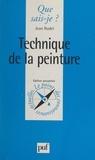 Audrey Bourriot et Jean Rudel - Technique de la peinture.