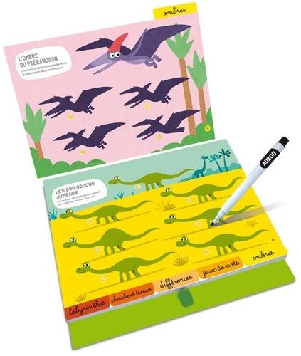 33 jeux au pays des dinosaures !. Avec un feutre effaçable