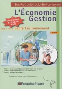 Galabria.be L'Economie Gestion pour la filière Santé Environnement - Tome 2 Image