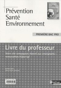 Deedr.fr Prévention Santé Environnement 1e Bac pro - Livre du professeur, programme 2010 Image