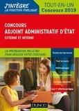 Audrey Charmont et Stephen Lédé - Concours Adjoint administratif d'Etat - Externe et interne, tout-en-un.