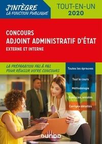 Audrey Charmont et Corinne Pelletier - Concours Adjoint administratif d'Etat - Externe et interne, tout-en-un.