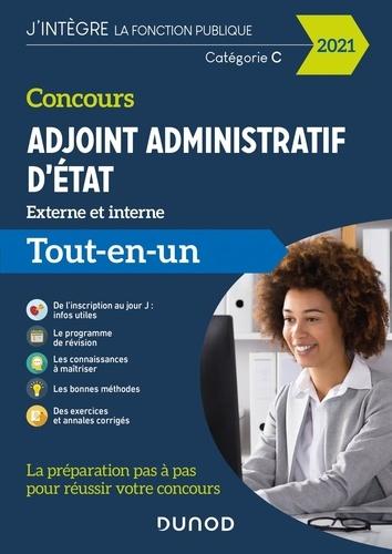 Audrey Charmont et Corinne Pelletier - Concours adjoint administratif d'Etat - Tout-en-un Externe et interne.