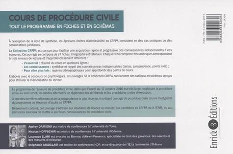 Cours de procédure civile et modes alternatifs de règlement des différends. Tout le programme en fiches et en schémas  Edition 2019