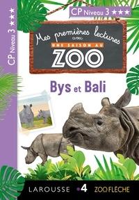 Audrey Forest et Sessine Boudebesse Bejjani - Mes premières lectures Une SAISON au ZOO - CP niveau 3 - Bys et Bali.