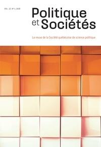 Audrey Gagnon et Alexie Labelle - Politique et Sociétés  : Politique et Sociétés. Vol. 37 No. 1,  2018.