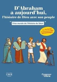 Audrey Izern et Hervé Florès - D'Abraham à aujourd'hui, l'histoire de Dieu avec son peuple - Frise murale de l'histoire du salut.