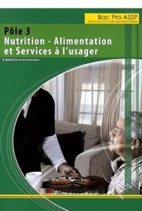 Audrey Lerat et Christelle Ratéro - Pôle 3 Bac Pro ASSP Nutrition - alimentation et services à l'usager - A domicile et en structure.