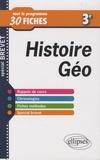 Audrey Longprés-Raillot - Histoire-Géographie 3e - Tout le programme en 30 fiches.